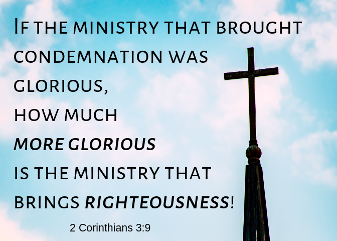 2 Corinthians 3 9