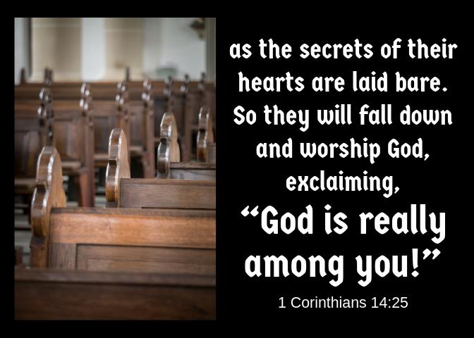 i Corinthians 14 25
