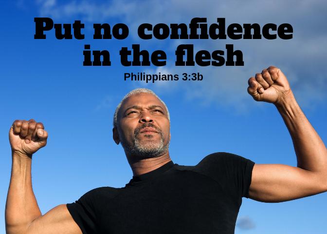 Philippians 3 3b