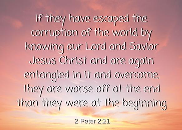 2 Peter 2 21