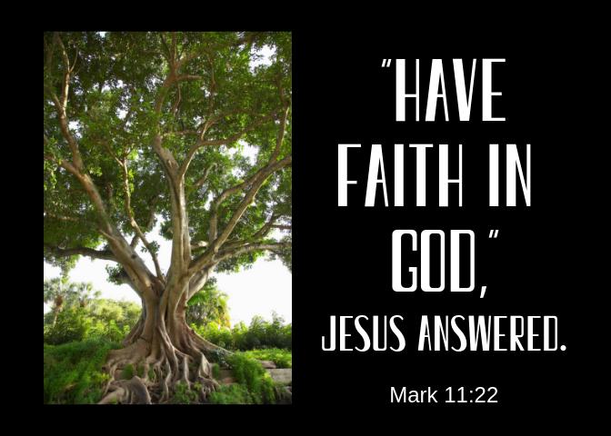 Mark 11 22