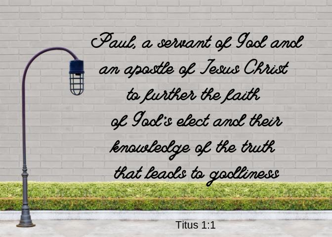 Titus 1 1