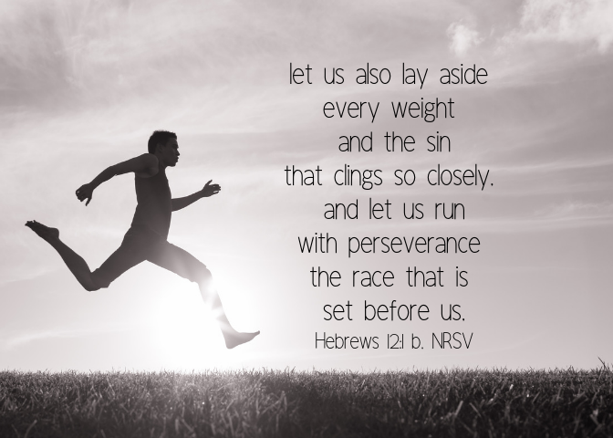 Hebrews 12 1 b NRSV