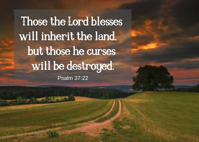 Psalm 37 22