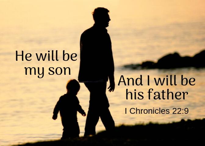 1 Chronicles 22 9