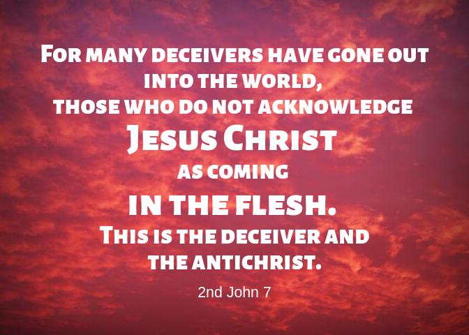2 John 7