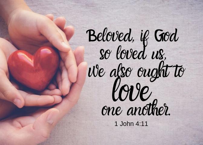 i John 4 11