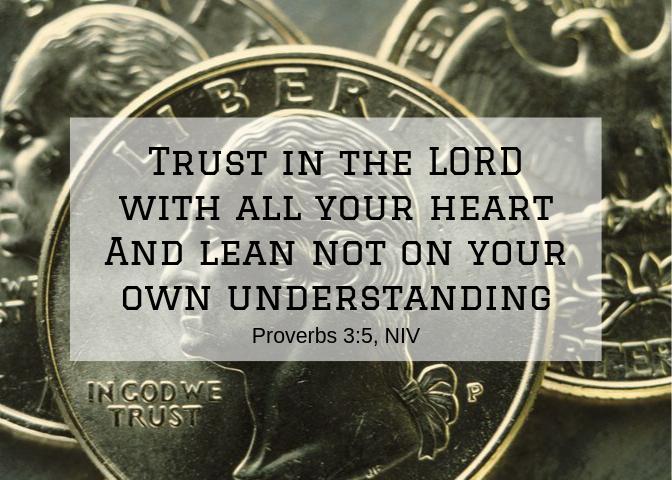 Proverbs 3 5 NIV