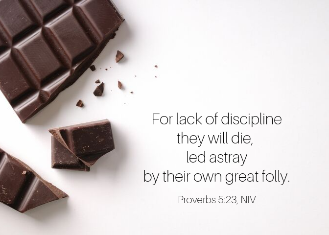Proverbs 5 23 NIV