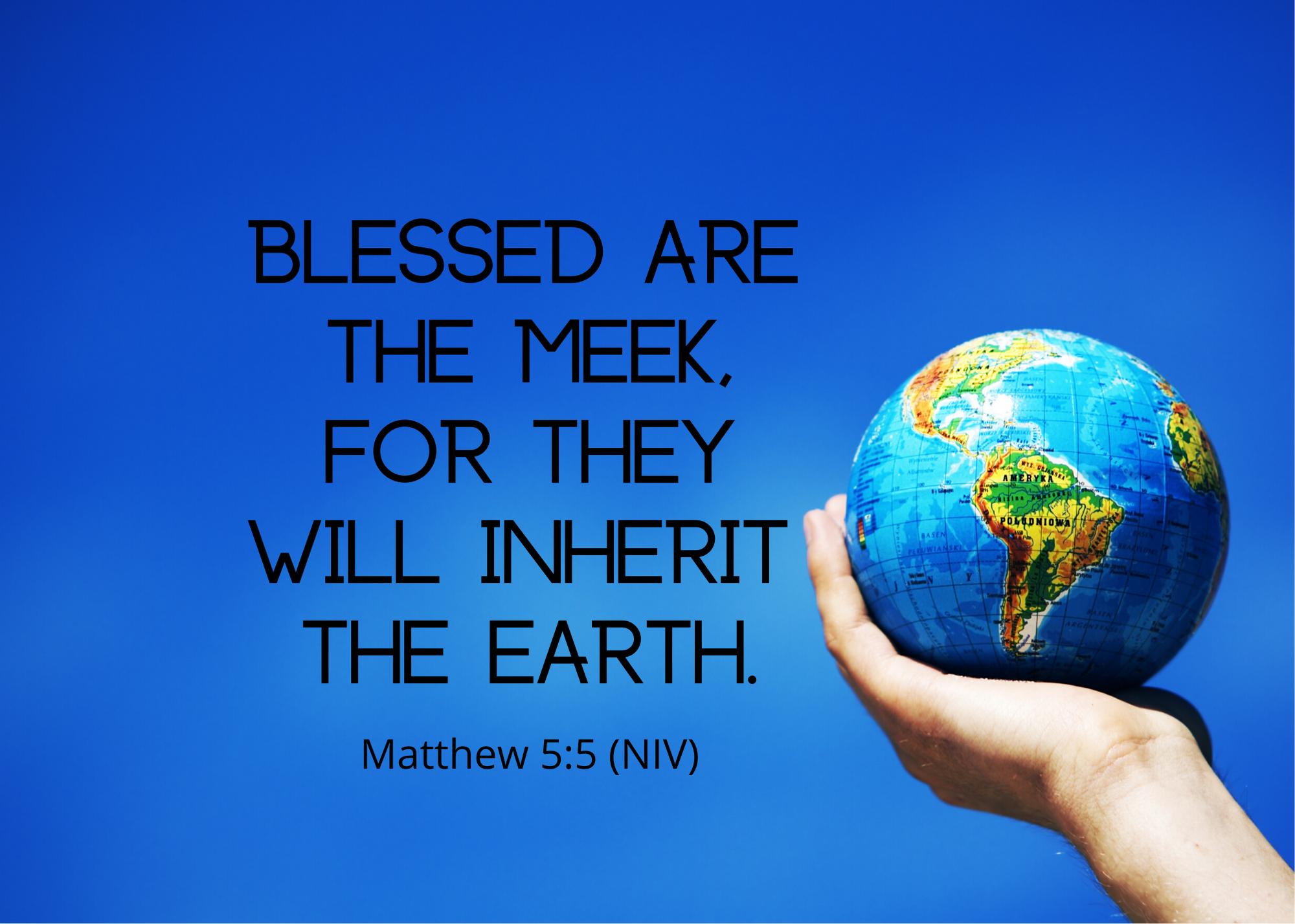Matthew 5 5 NIV