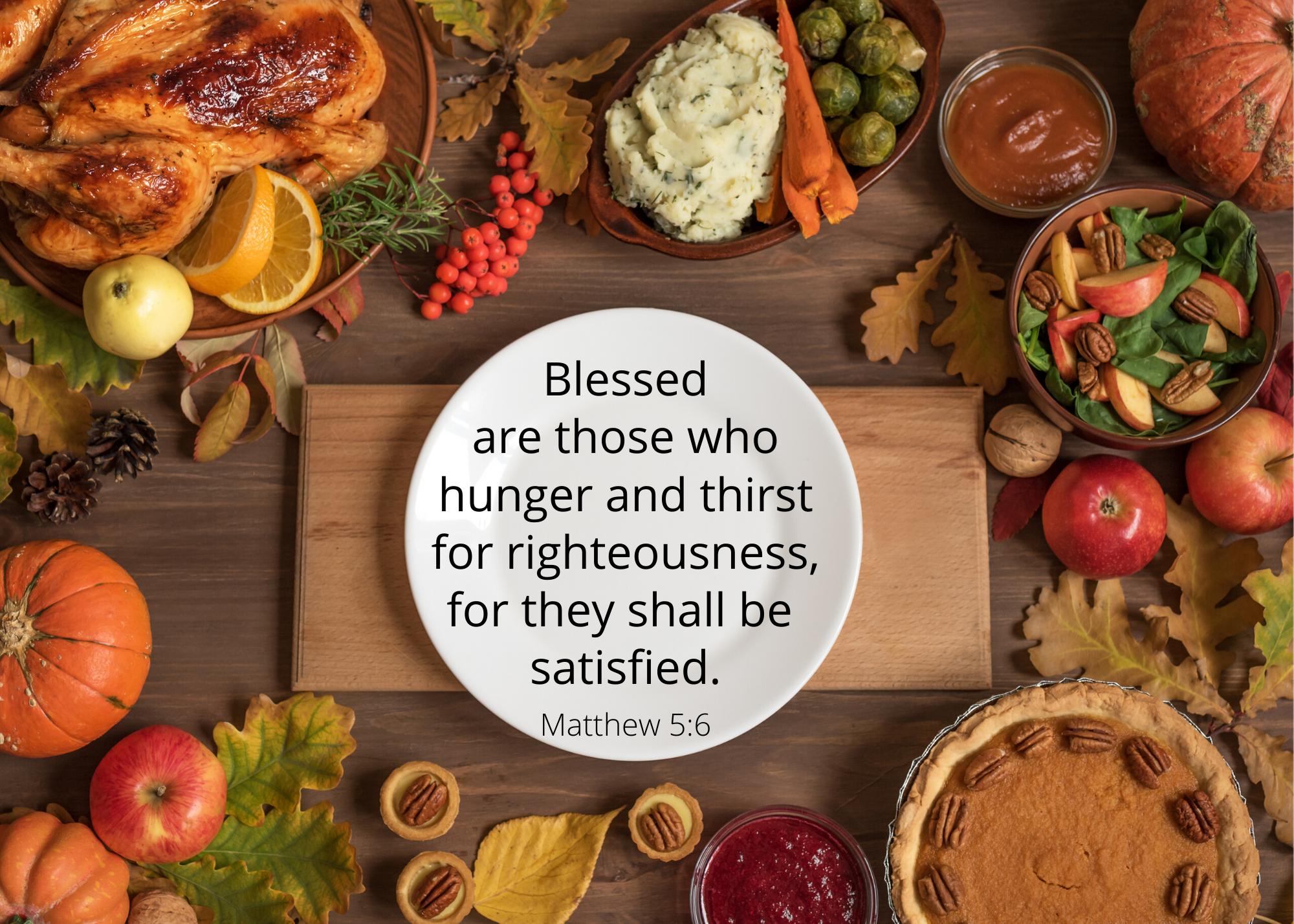 Matthew 5 6