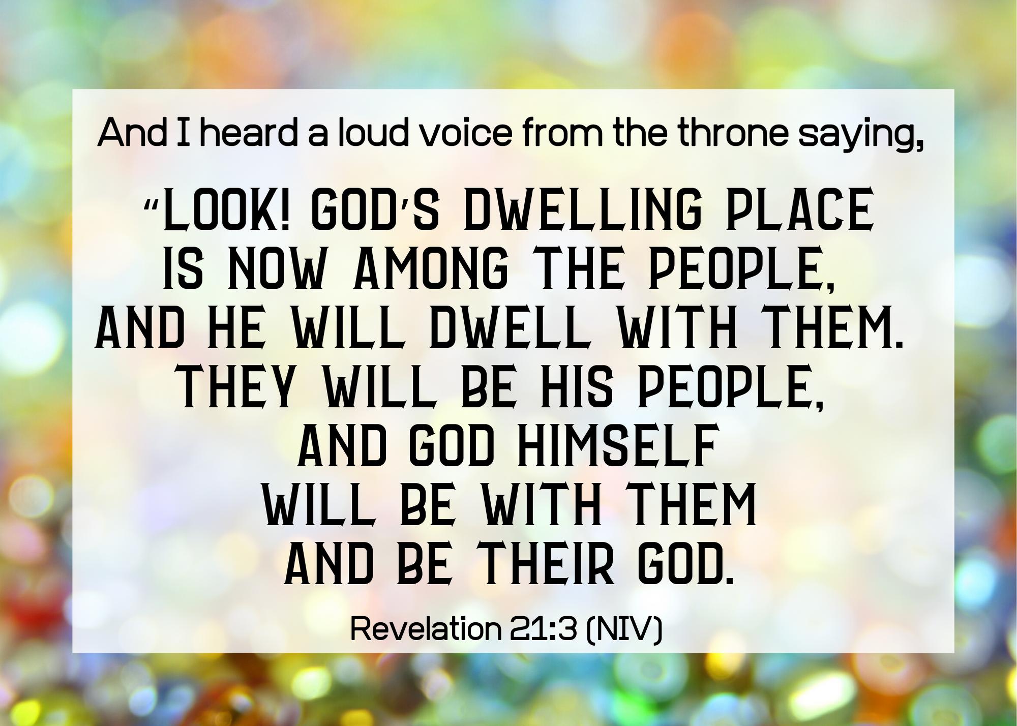 Revelation 21 3 NIV
