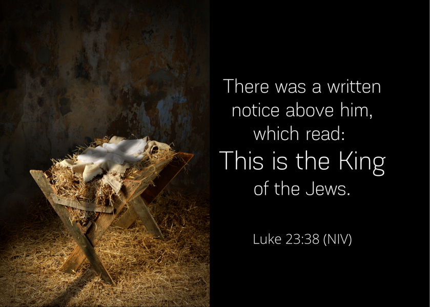 Luke 23 38 NIV
