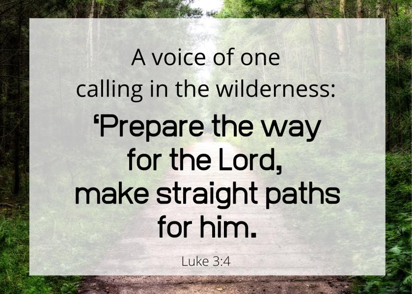 Luke 3 4