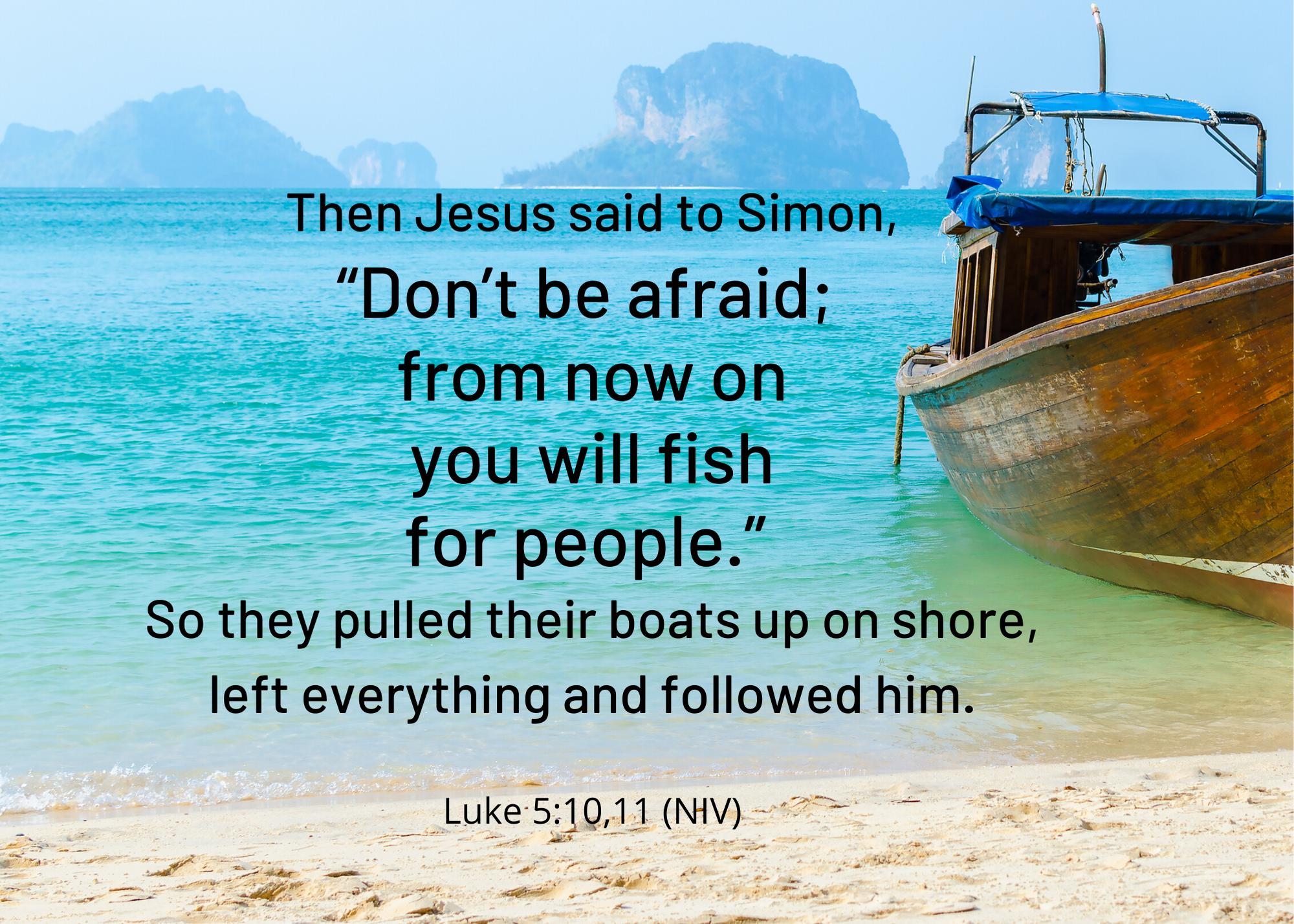 Luke 5 10 11