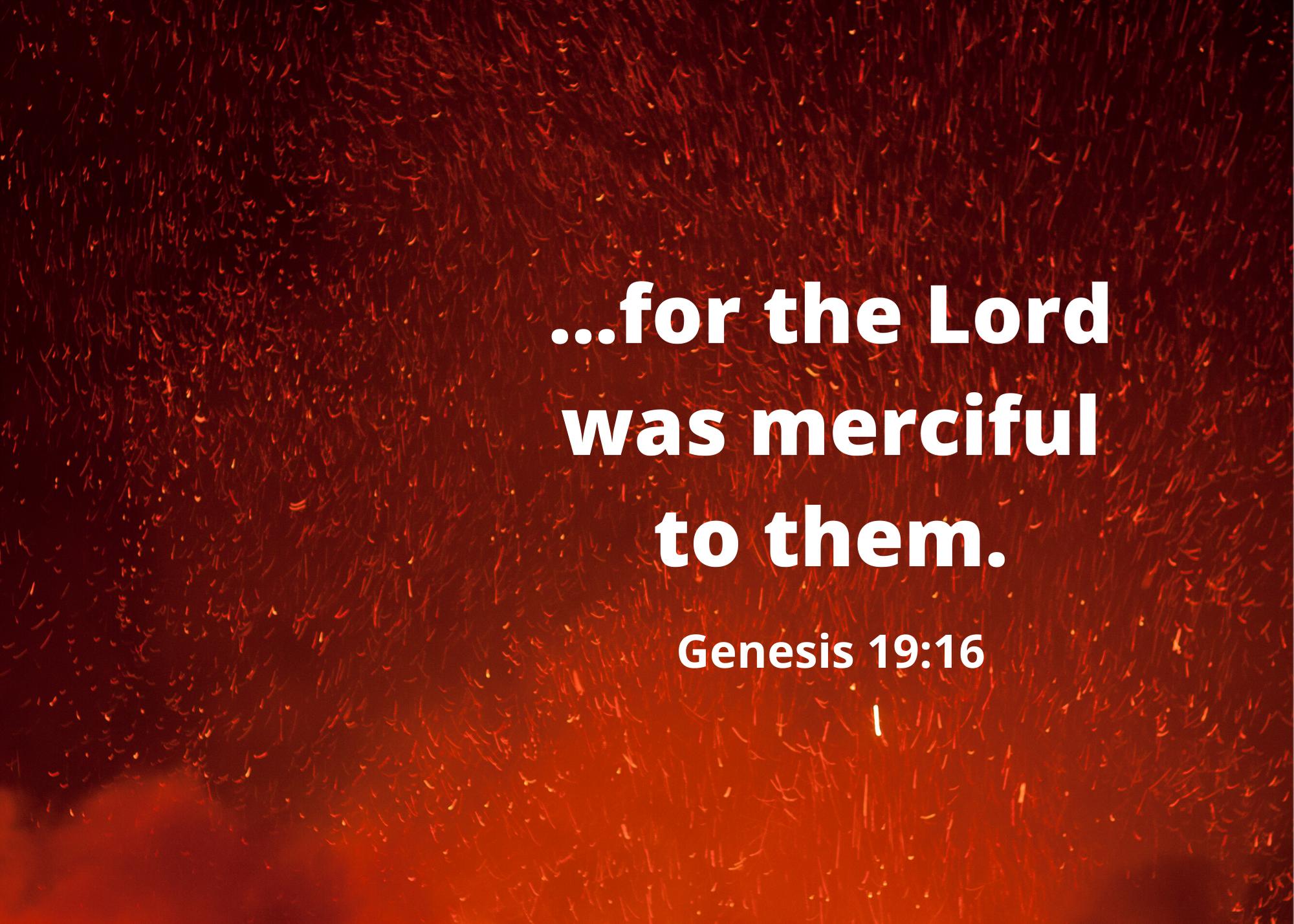 Genesis 19 16