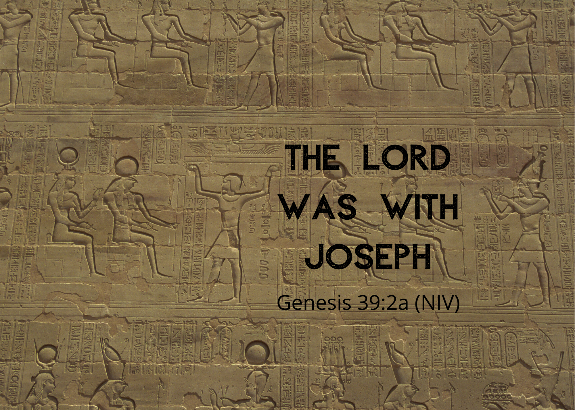Genesis 39 21 NIV