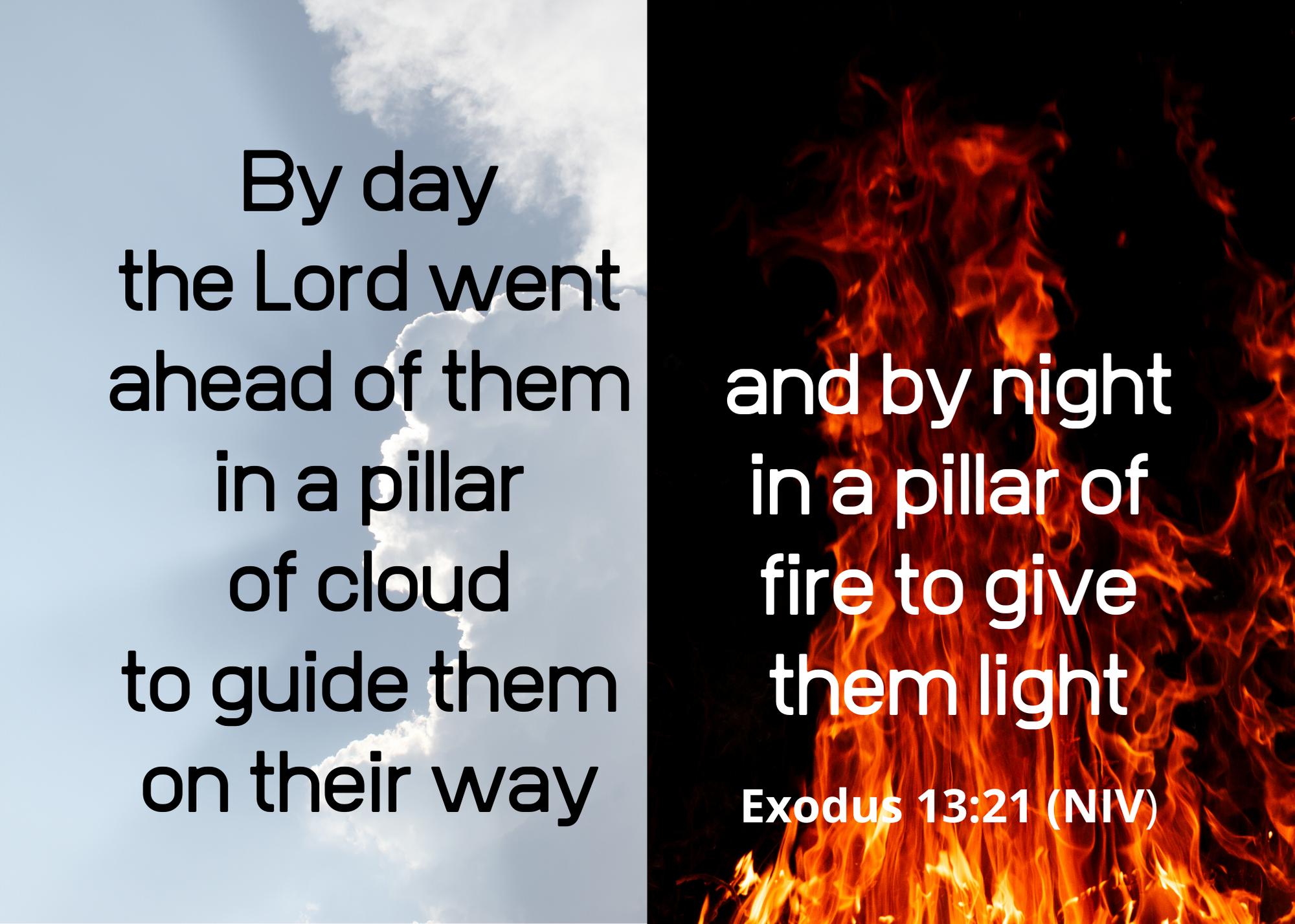 Exodus 13 21 NIV