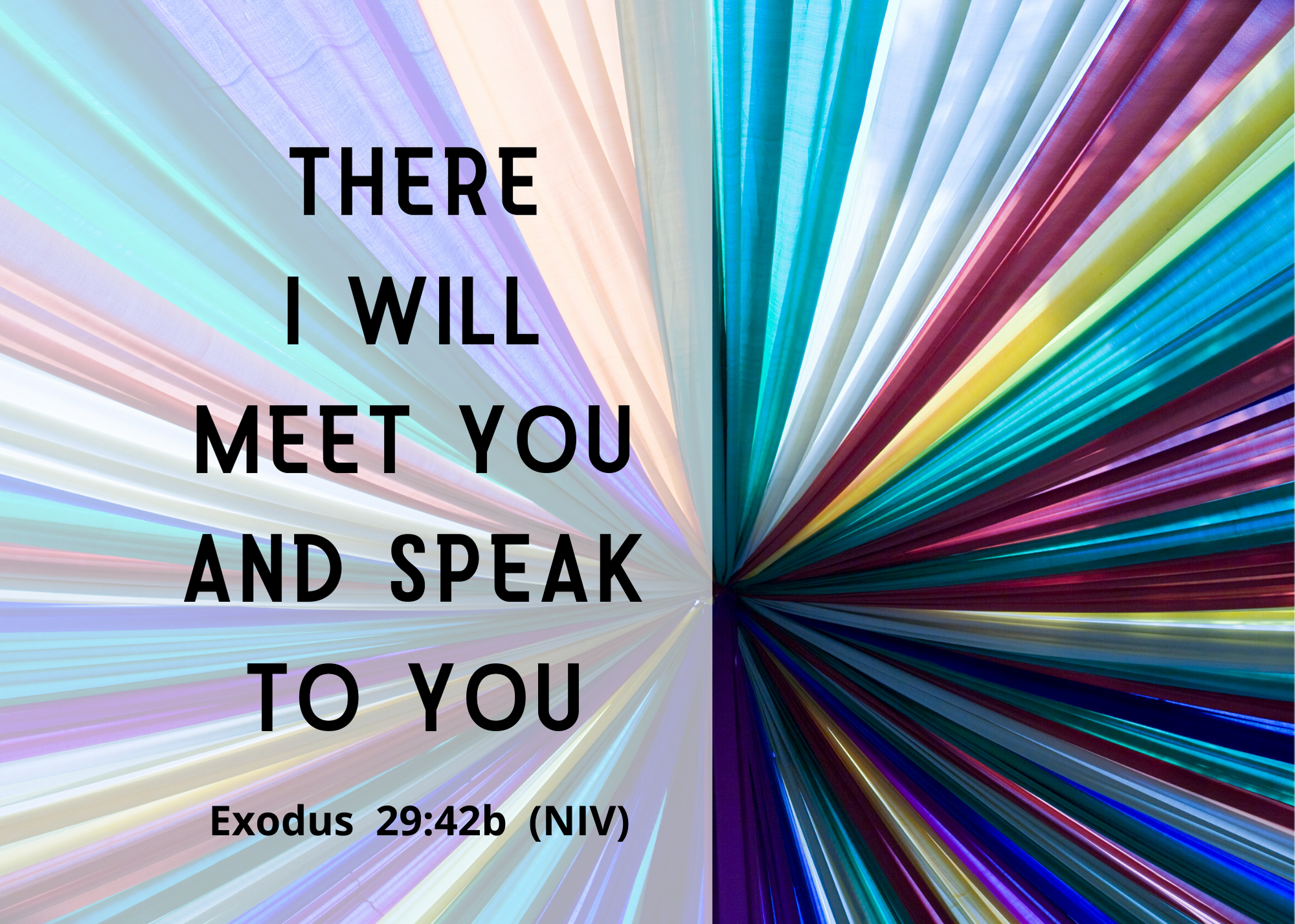Exodus 29 42b NIV