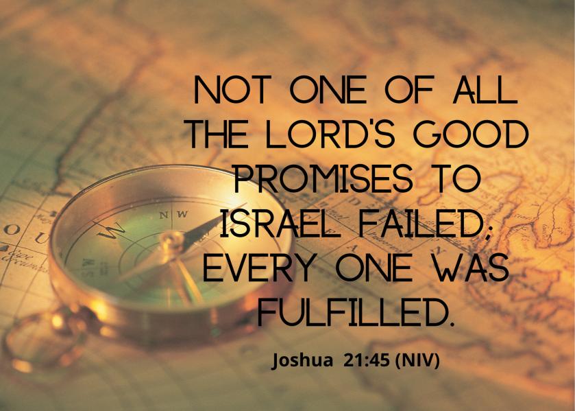 Joshua 21 45 NIV