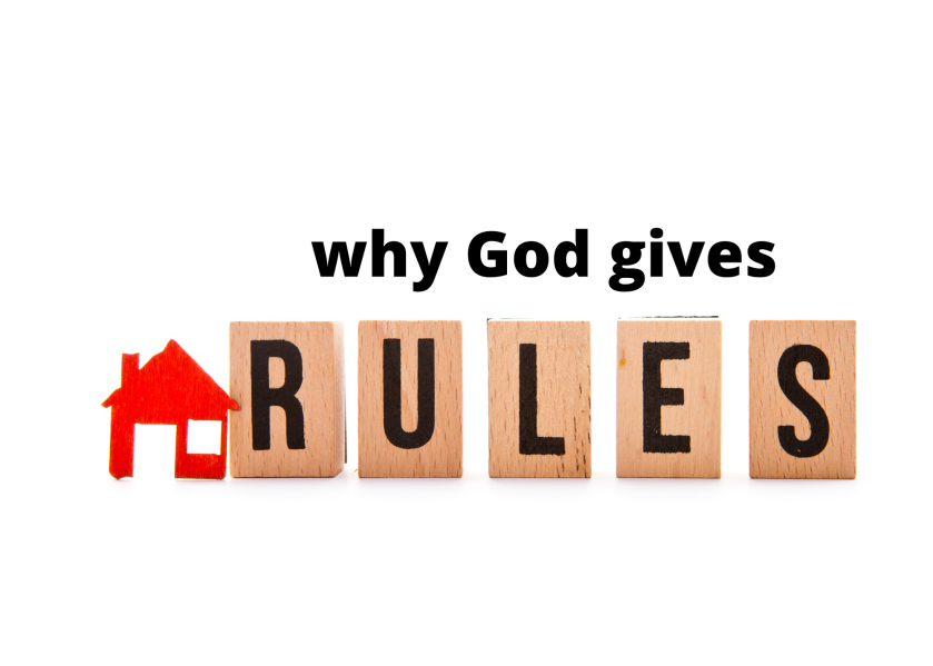 why God gives