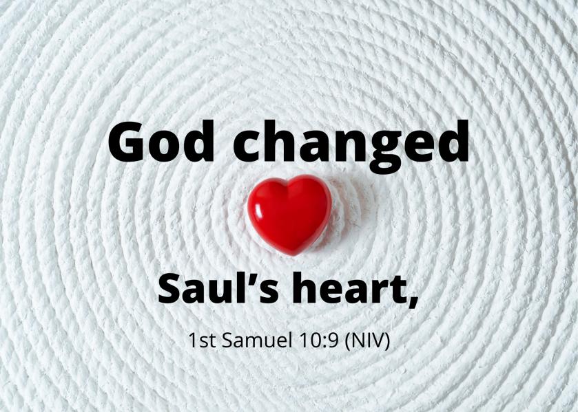 1 Samuel 10 9 NIV
