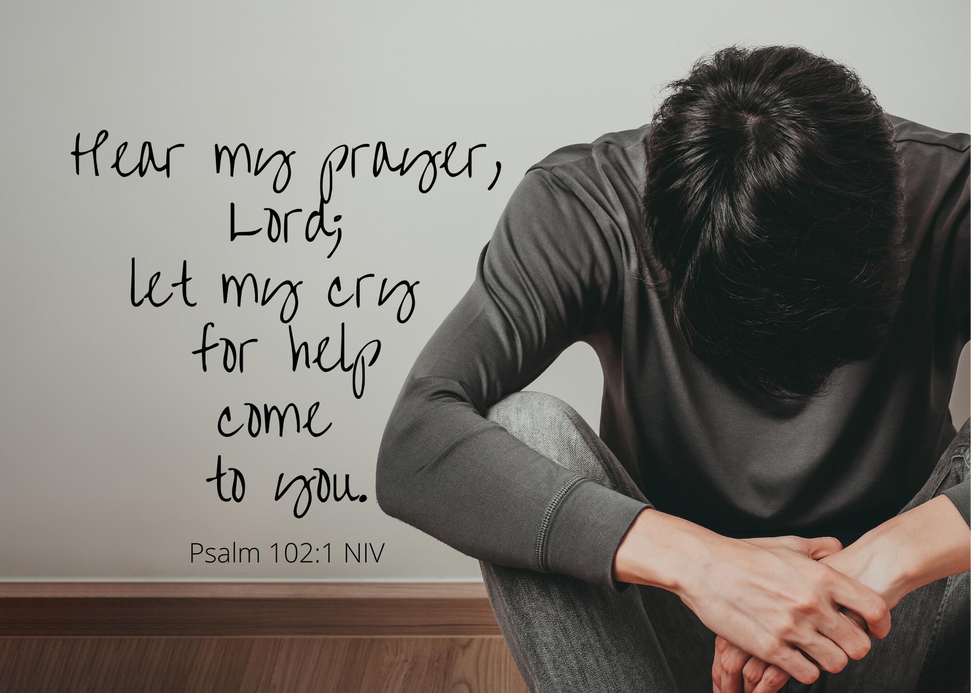 Psalm 102 1 NIV