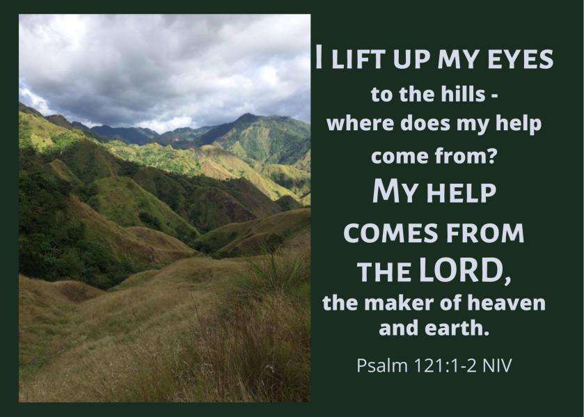 Psalm 121 1 2 NIV