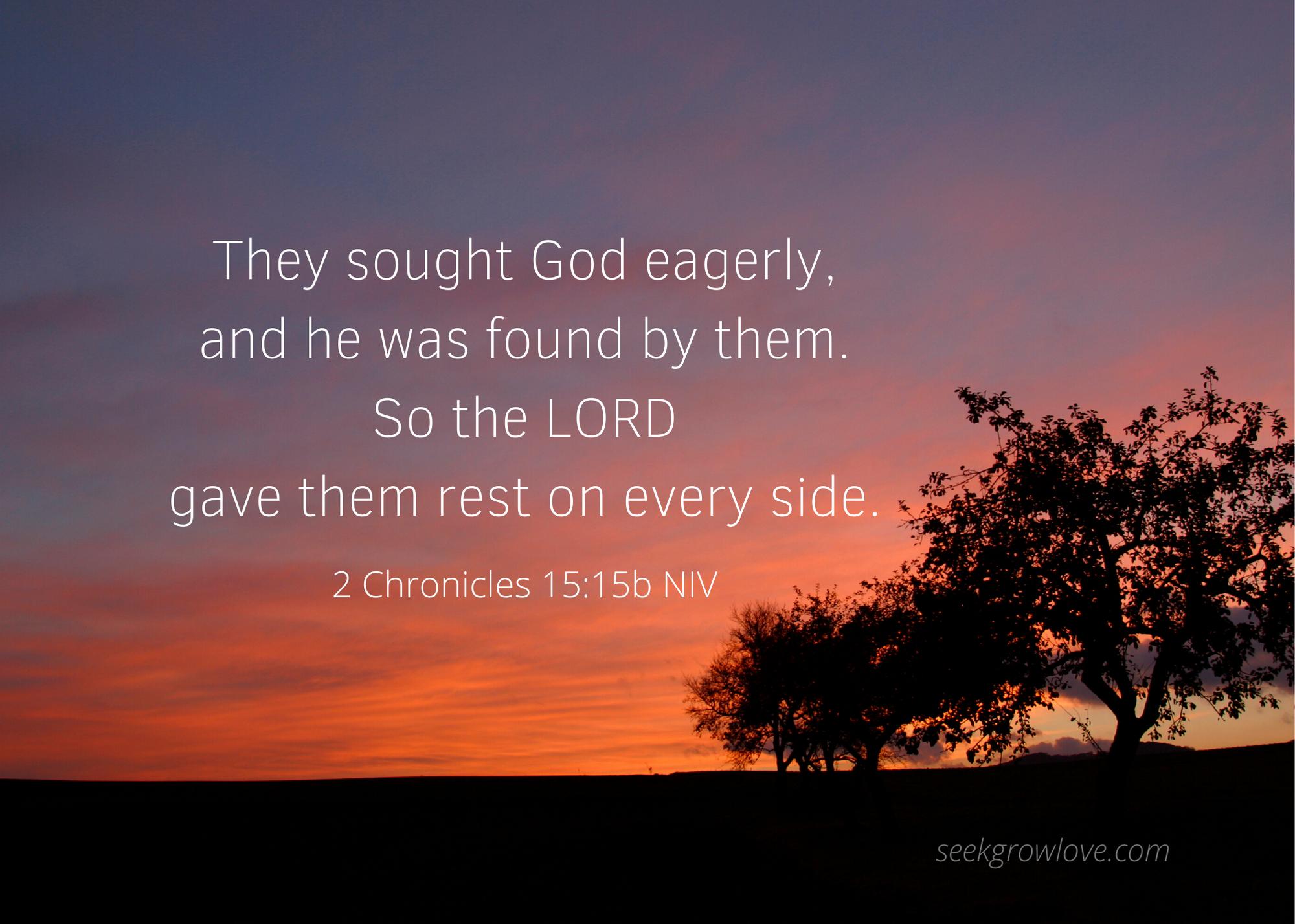 2 Chronicles 15 15b NIV sgl