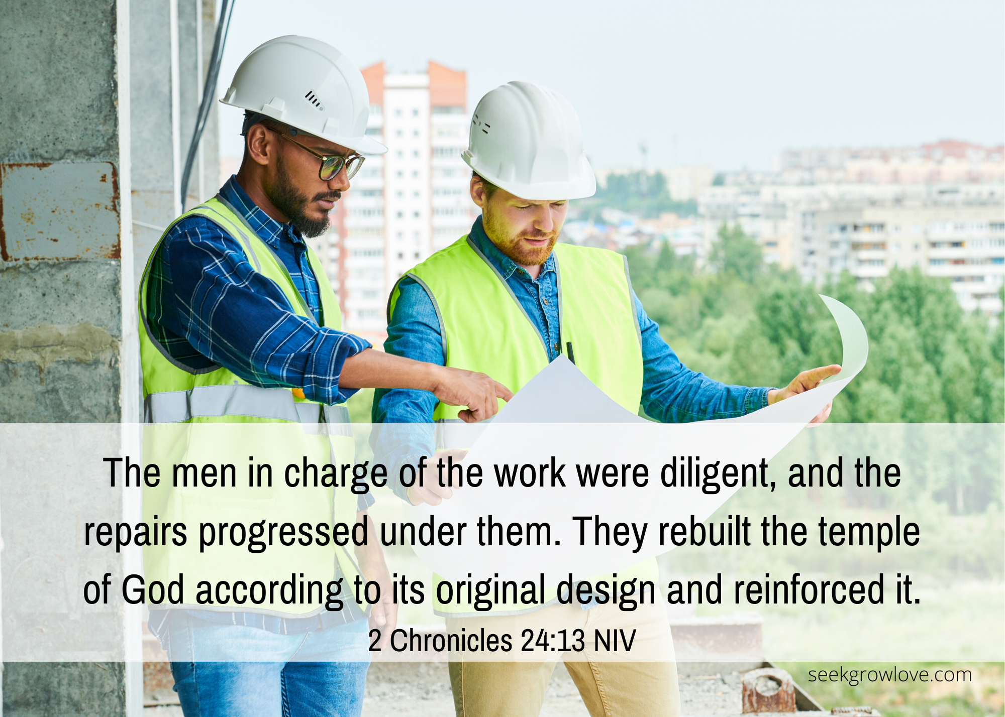 2 Chronicles 24 13 NIV sgl