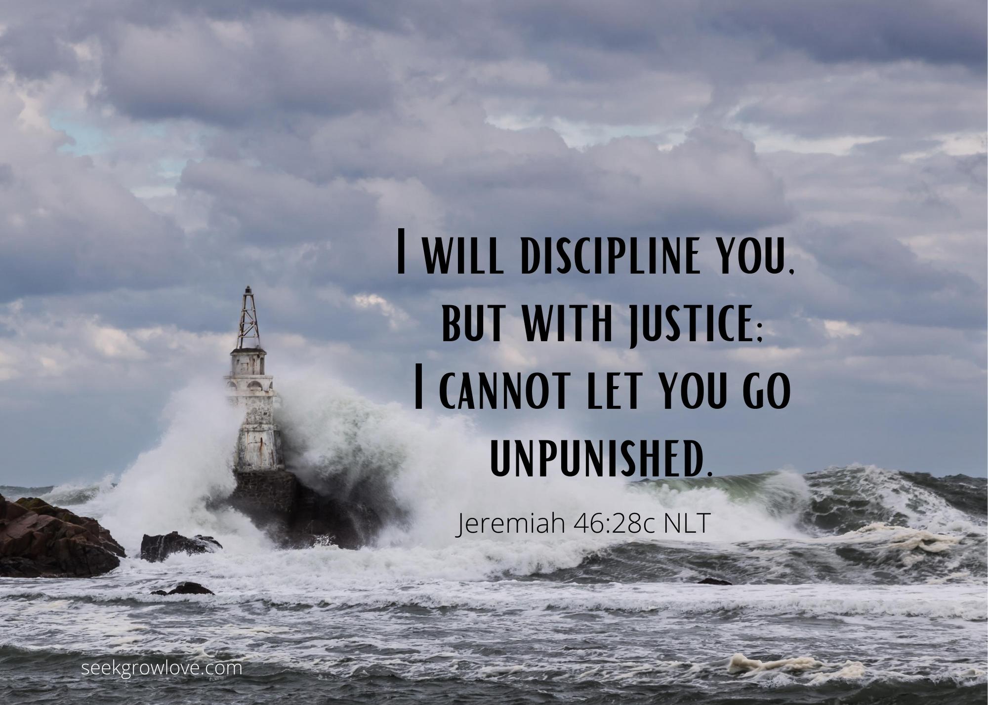 Jeremiah 46 28c NLT sgl