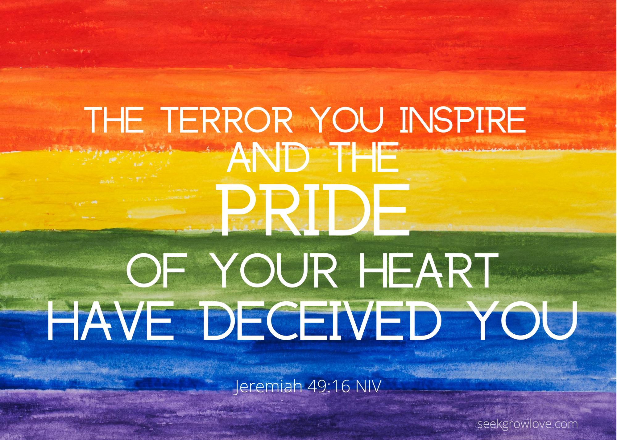 Jeremiah 49 16 NIV sgl